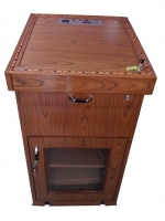 wooden digital podium SIL-503A