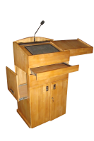 wooden digital podium SIL-504
