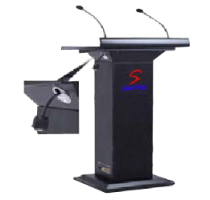 wooden podium with pa system SP-512