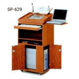 Wooden Computer Podium SP-629