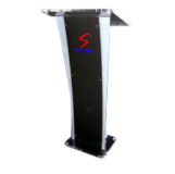 Black and White Acrylic Podium SP-612