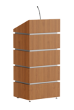 Modern Wooden Podium SP-639