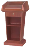 Teak Wood Podium SP-642