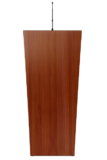 Teak Plywood Natural Wooden Podium SP-643