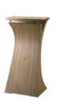 Stylish Curved Wooden Podium SP-649