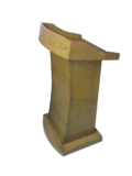 Teak Plywood Podium stand SP-653