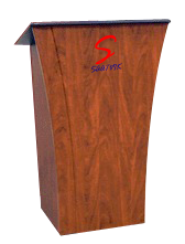 wooden podium sp-655