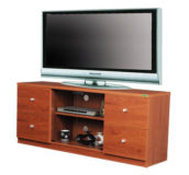 Wooden TV Trolley for 55″- 65″ Saatvik STT-317