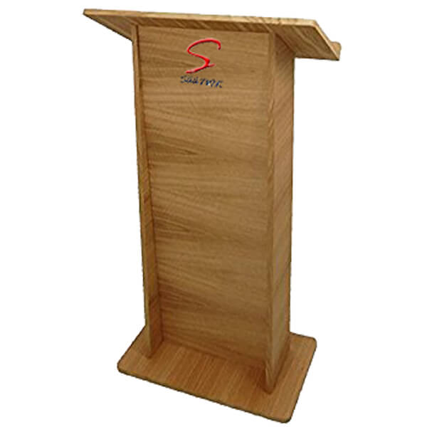 Two Shelf Wooden Podium SP-530