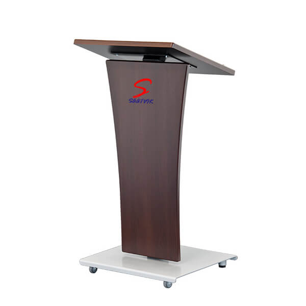 Wooden Metal Podium SP-526