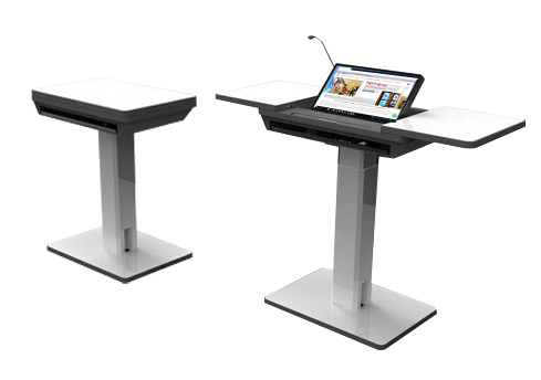 Wooden computer lectern SIL-501