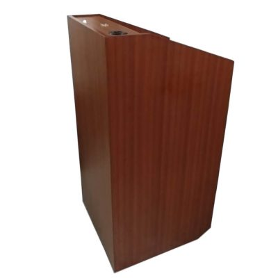 modern podium design in wood Saatvik SP-546