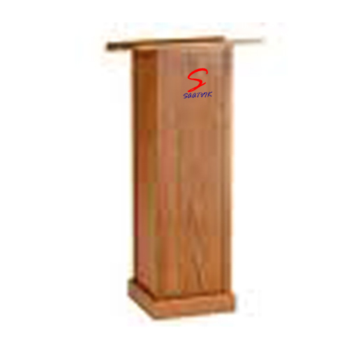 Teak Plywood Wooden Podium SP-529