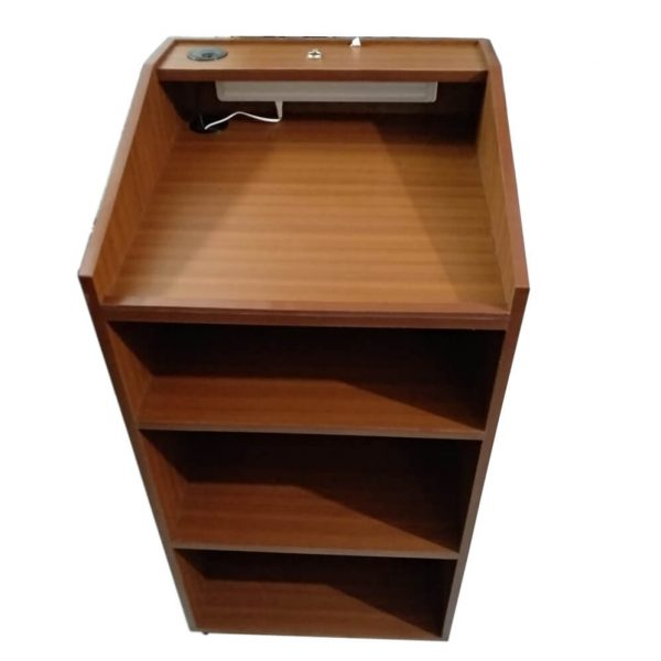 wooden podium for classroom Saatvik SP-546