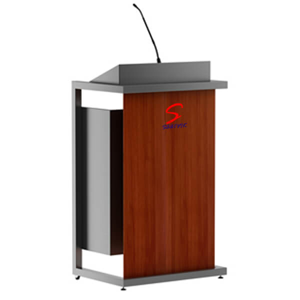 Wooden Steel Podium SP-533