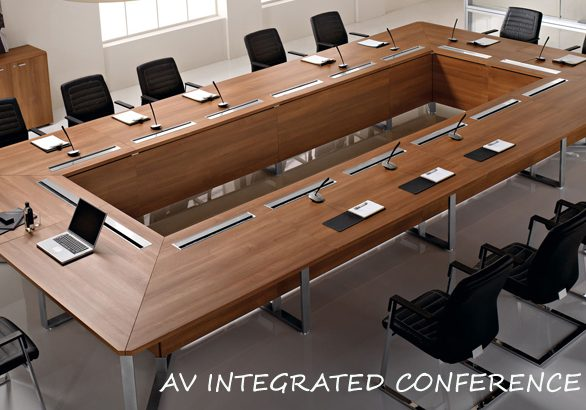 custom av conference-table